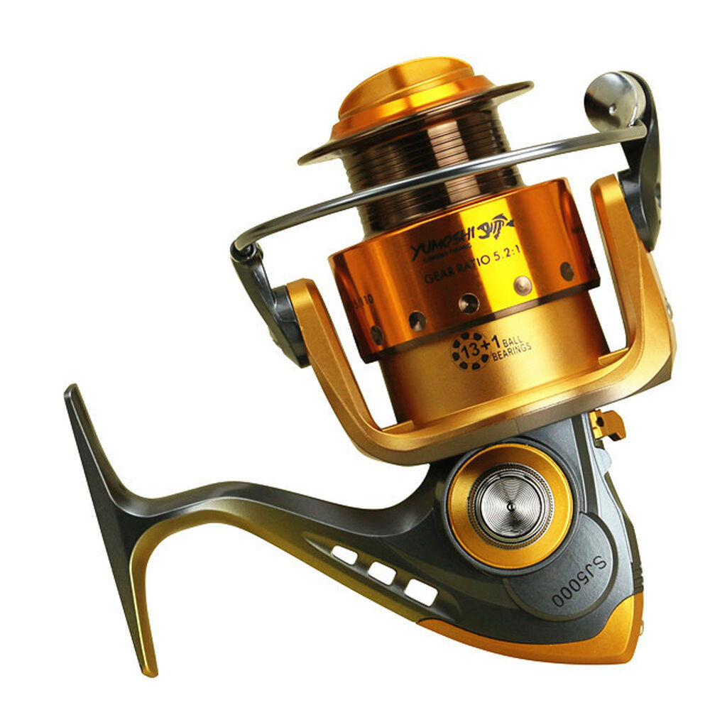 14bb ball bearing metal fishing spinning reel saltwater for Ebay fishing reels