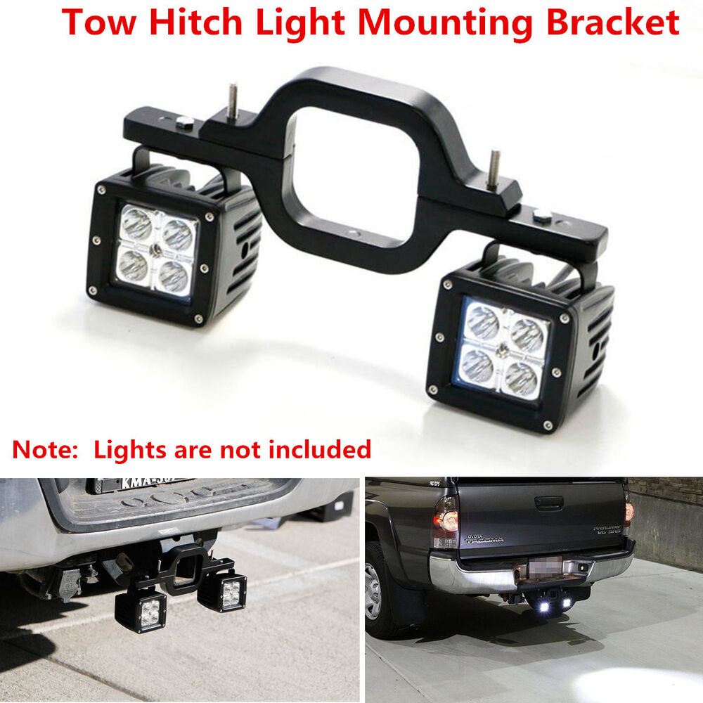 Dual LED Backup Reverse Work Light SUV Offroad Truck Tow ...
