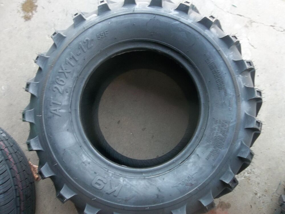 Four Wheeler Tyres : Two  atv k ply t l