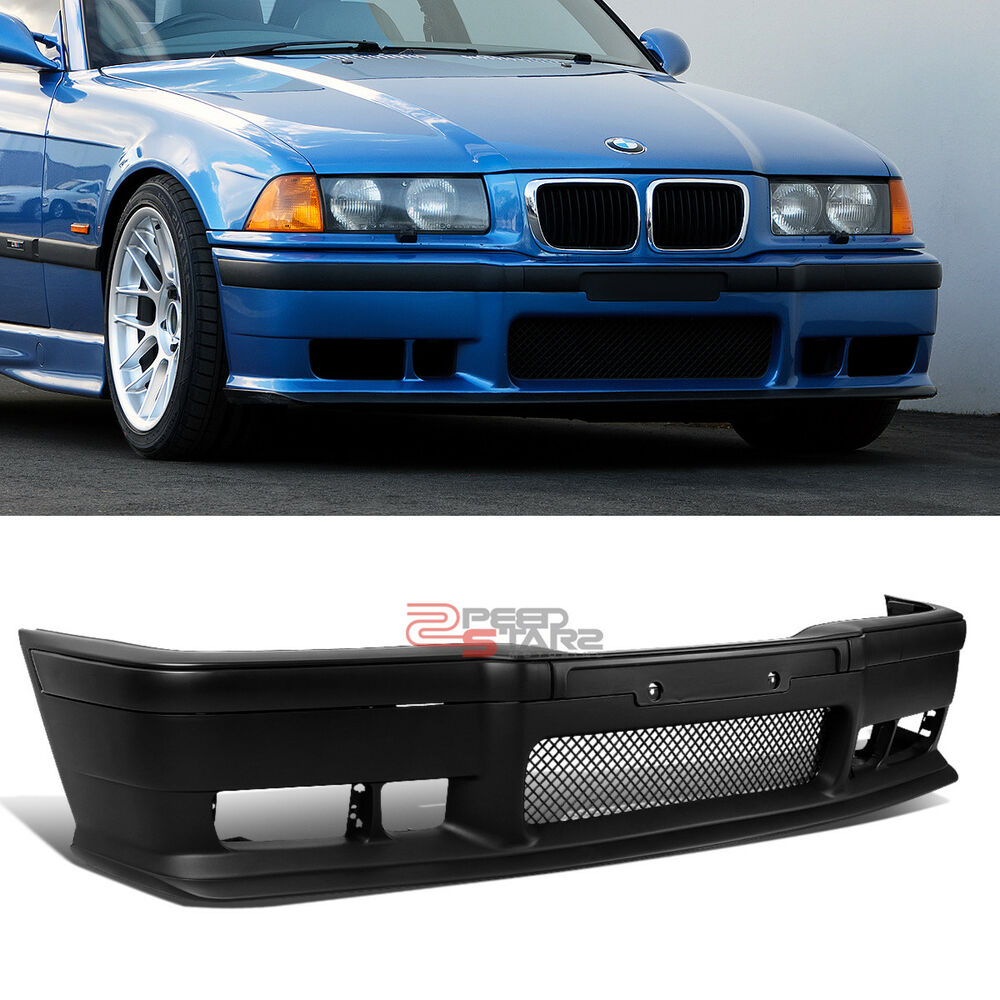 for 92 99 bmw e36 3 series m3 m sport style front bumper. Black Bedroom Furniture Sets. Home Design Ideas
