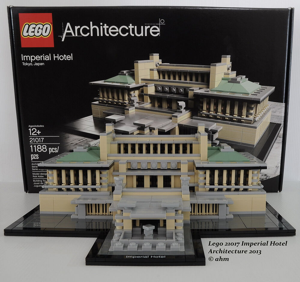 lego architecture tokyo imperial hotel japan sets building skyline chicago
