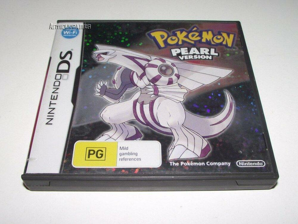 pokemon pearl version nintendo ds 2ds 3ds game complete ebay. Black Bedroom Furniture Sets. Home Design Ideas