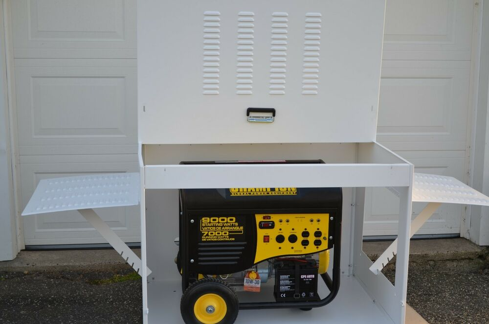 Simple Portable Generator Shelter : Portable generator enclosure ebay
