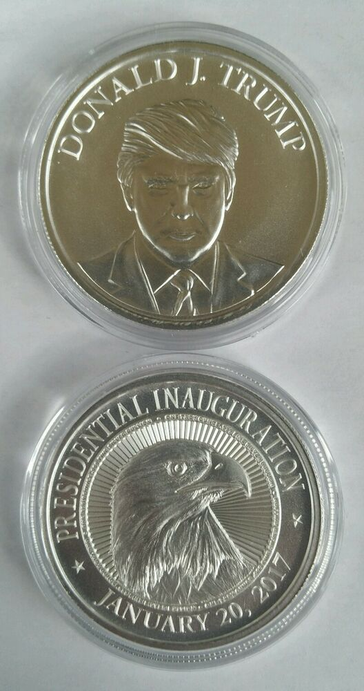 Donald Trump 1 Oz 999 Silver Coin Make America Great