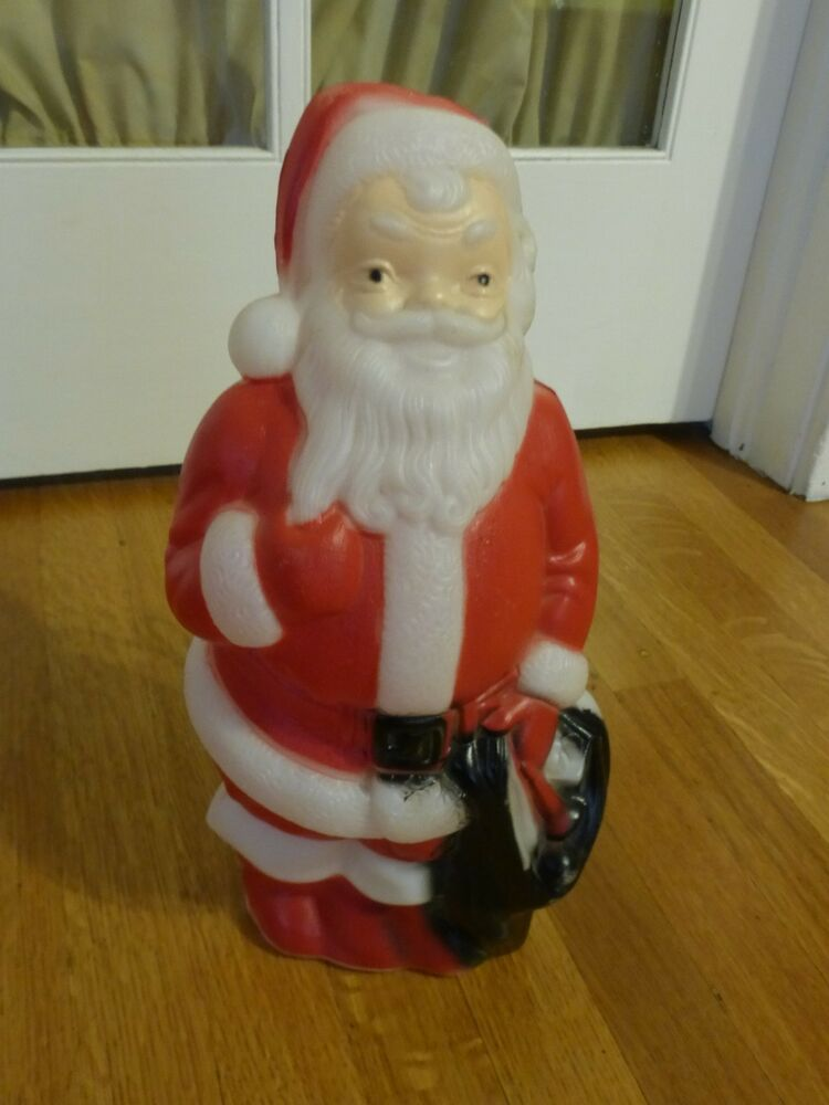 vintage 1968 empire blow mold santa claus christmas. Black Bedroom Furniture Sets. Home Design Ideas