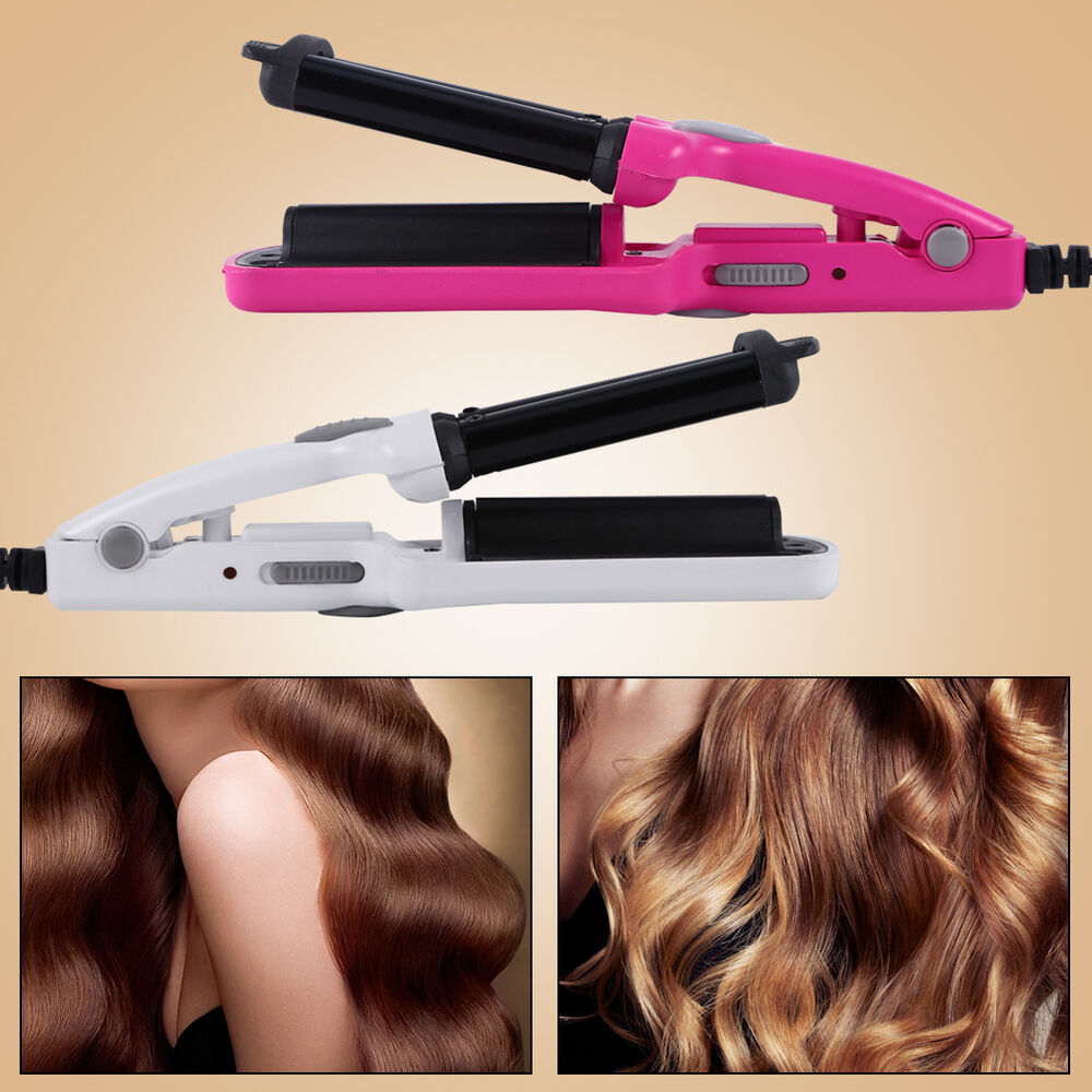waver for hair styling professional ceramic 3 barrel wave hair curler hair 8039