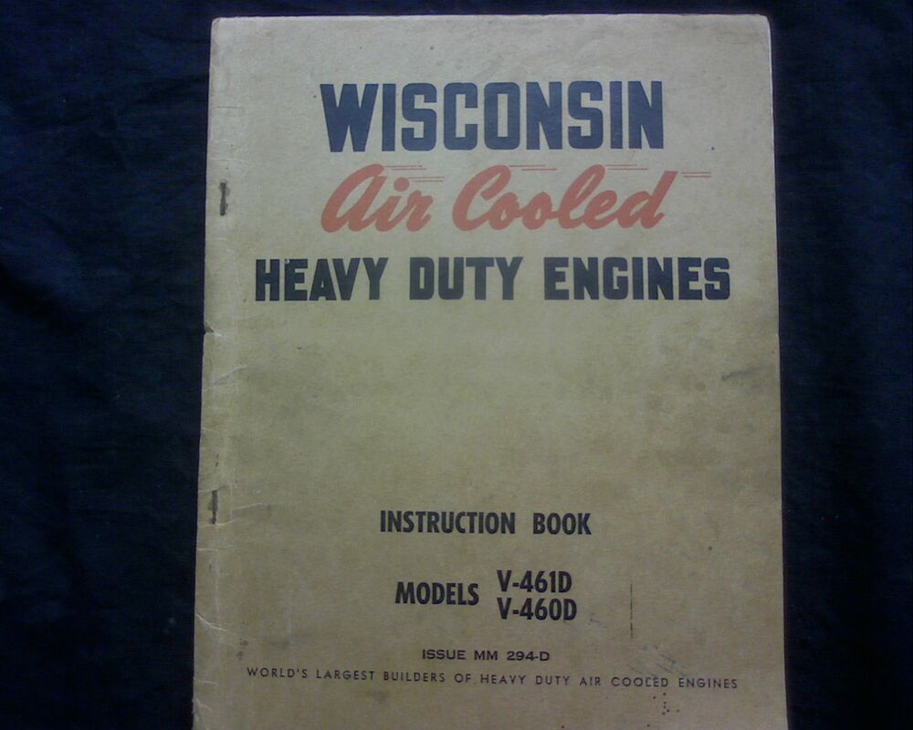 Wisconsin Vh4d Service manual