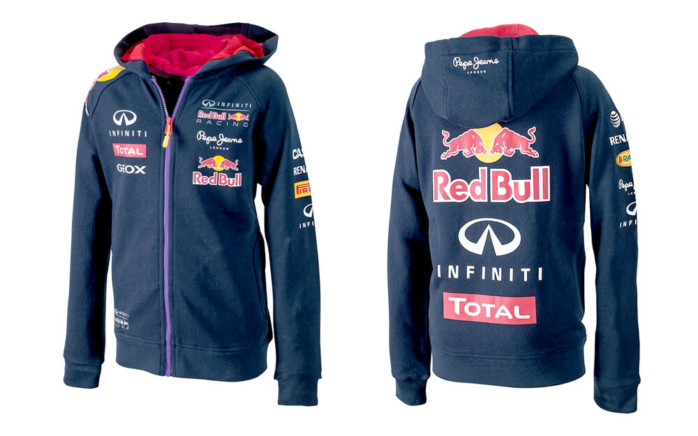 AUTHENTIC PEPE JEANS INFINITI RED BULL RACING F1 TEAM KIDS ...
