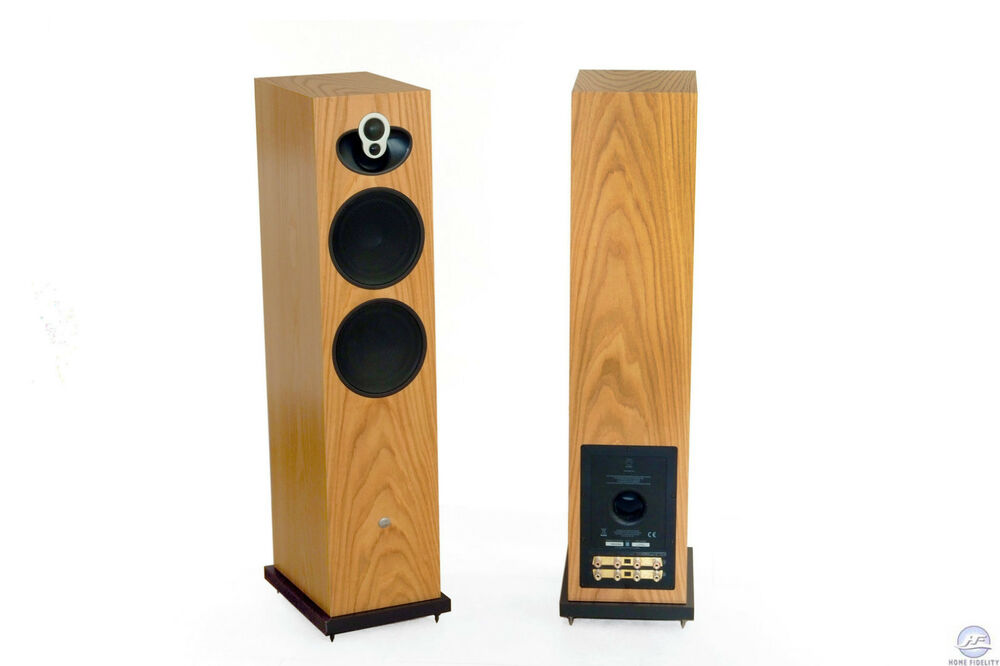 linn majik 140 speakers oak ebay. Black Bedroom Furniture Sets. Home Design Ideas
