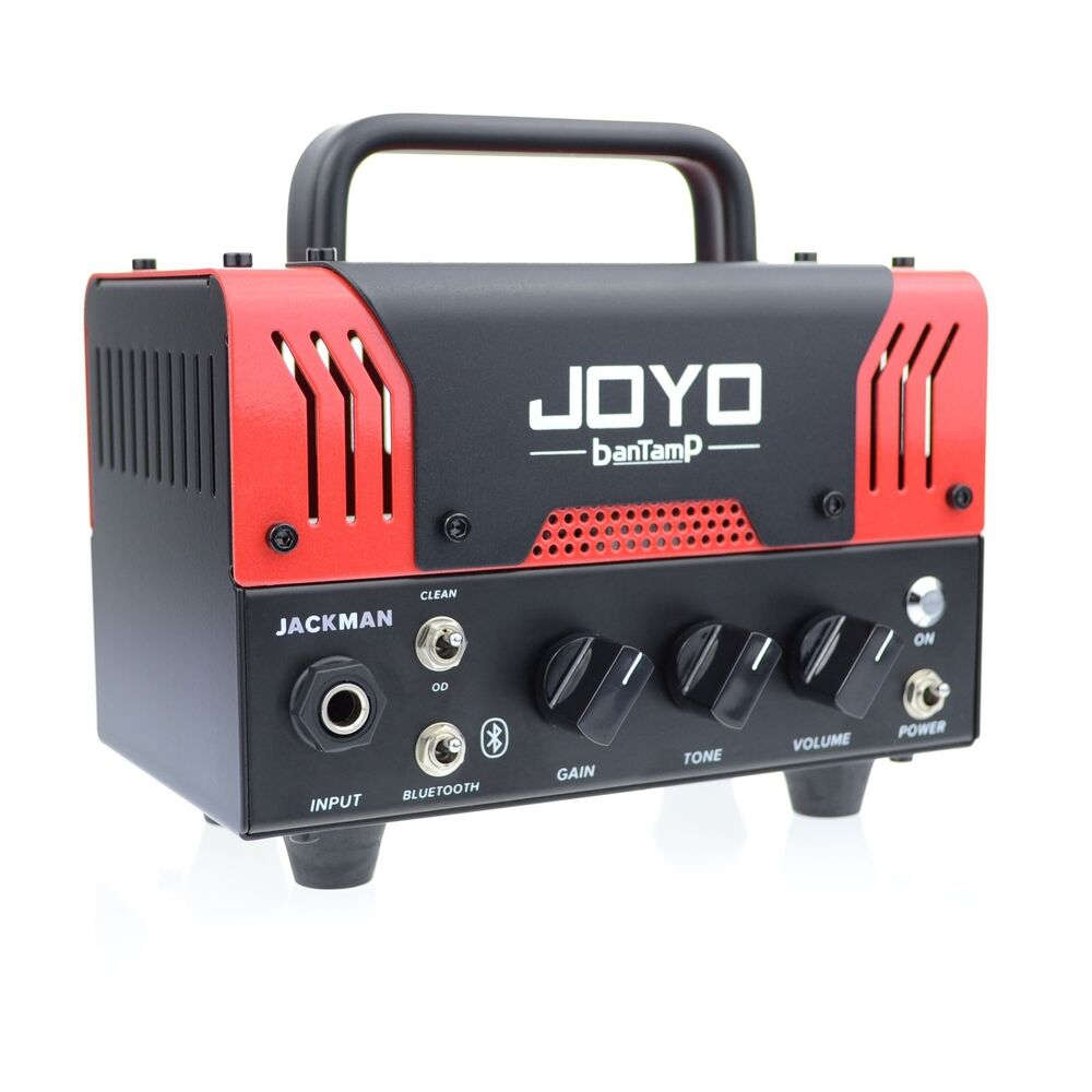 joyo jackman bantamp guitar amplifier head 20w tube 2 channel bluetooth new 6943206750260 ebay. Black Bedroom Furniture Sets. Home Design Ideas