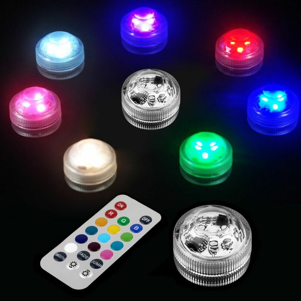 Rgb Color Changing 3 Led Submersible Waterproof Fish Tank