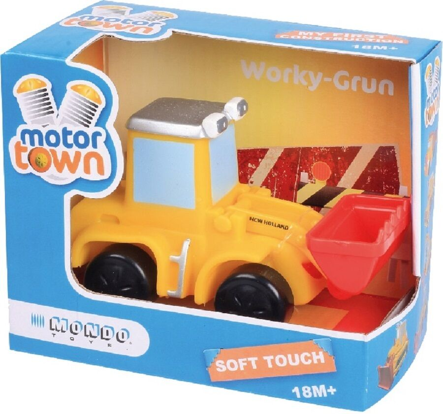 Motor Town By Mondo Toys High Quality Soft Touch Bull