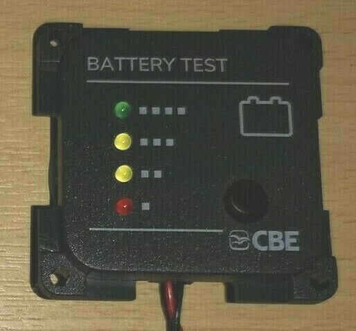 Rv Battery Voltage Monitor : Battery level indicator monitor caravan camper volt