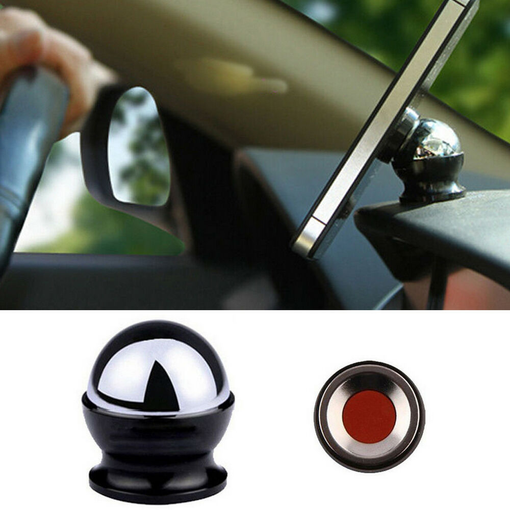 Strong Magnetic Ball Joint Adjustment Car Mount Holder For