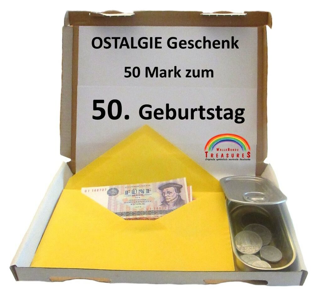 50 geburtstag 1967 50 ddr mark symbolisches geschenk. Black Bedroom Furniture Sets. Home Design Ideas