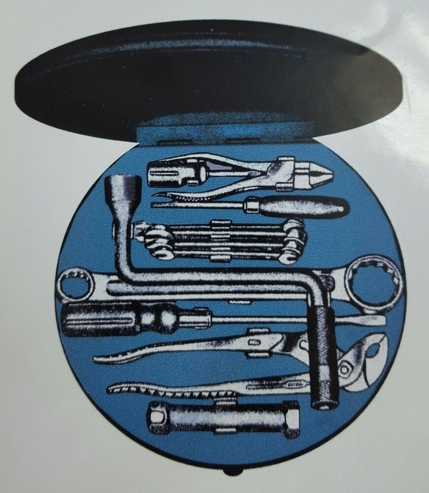 Classic Vw Beetle Tool Kit: HAZET TOOLBOX STICKER NEW !!! VW SPLIT OVAL 356 TOURIST
