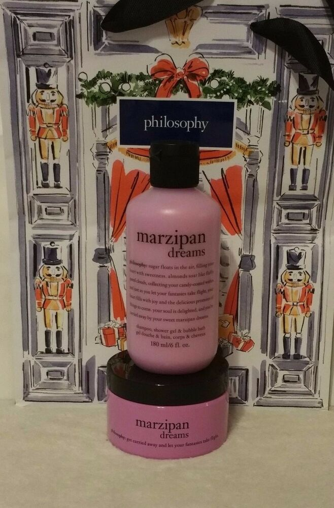 Philosophy Marzipan Dreams Shampoo Shower Gel Bubble Bath