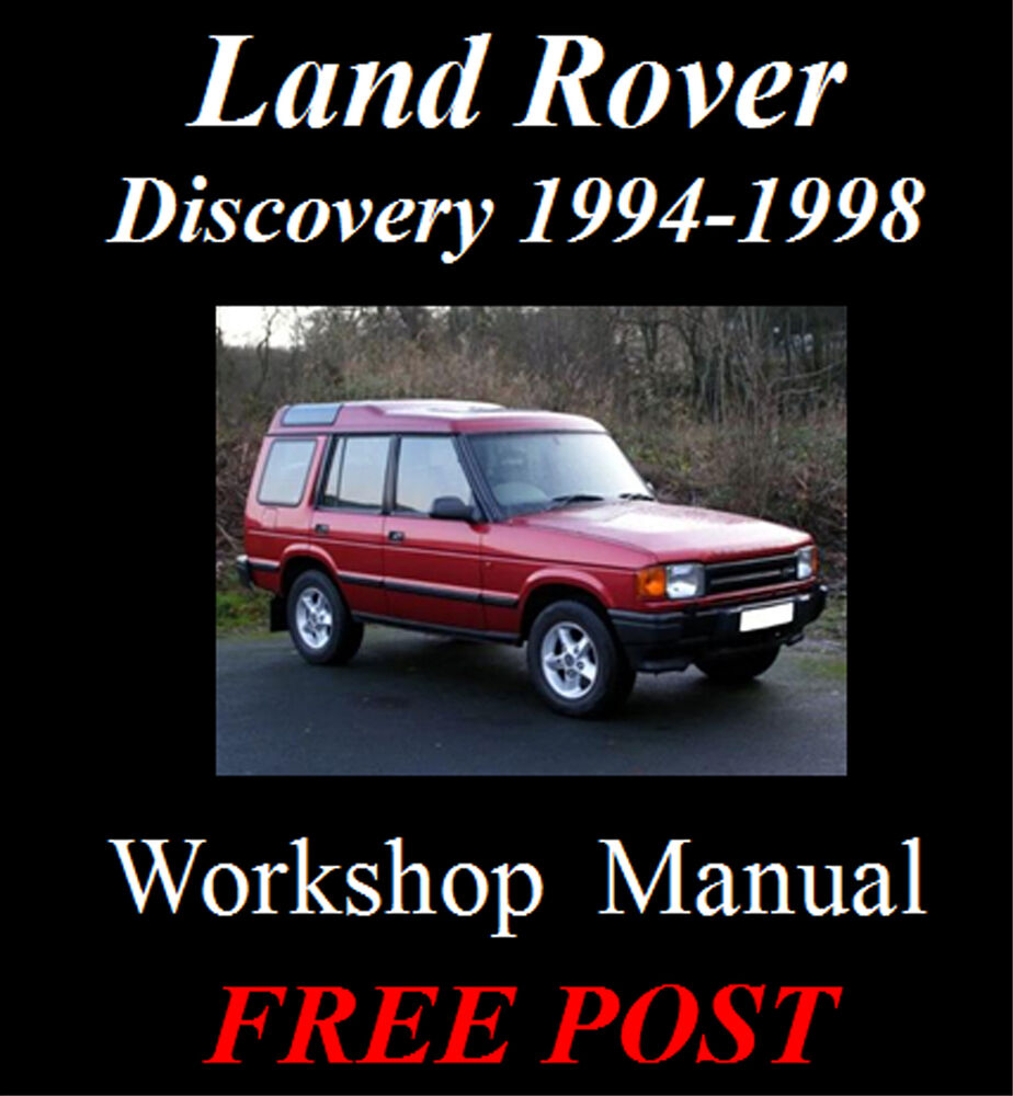 Land Rover Discovery 1998 Full Width: LAND ROVER DISCOVERY & FREELANDER SERIES 1 94-1998 FACTORY