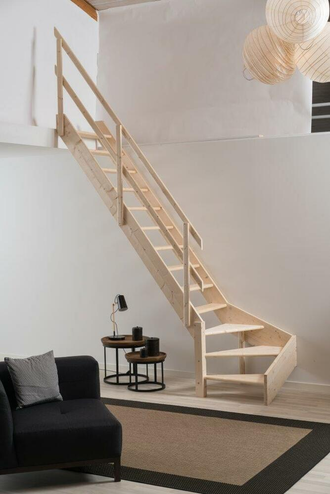 Grand Space Saving Saver Staircase Stairs Loft Ladder With
