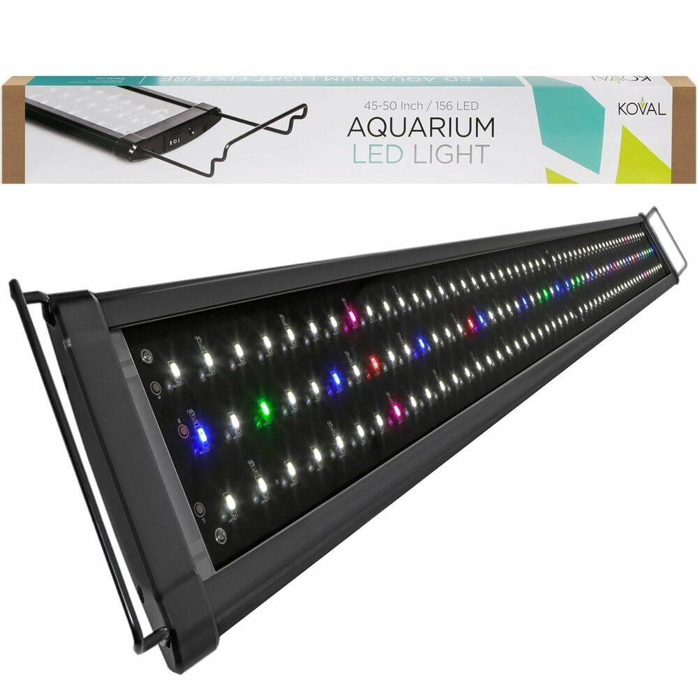koval inc 156 led aquarium lighting for 45 inch 50 inch. Black Bedroom Furniture Sets. Home Design Ideas