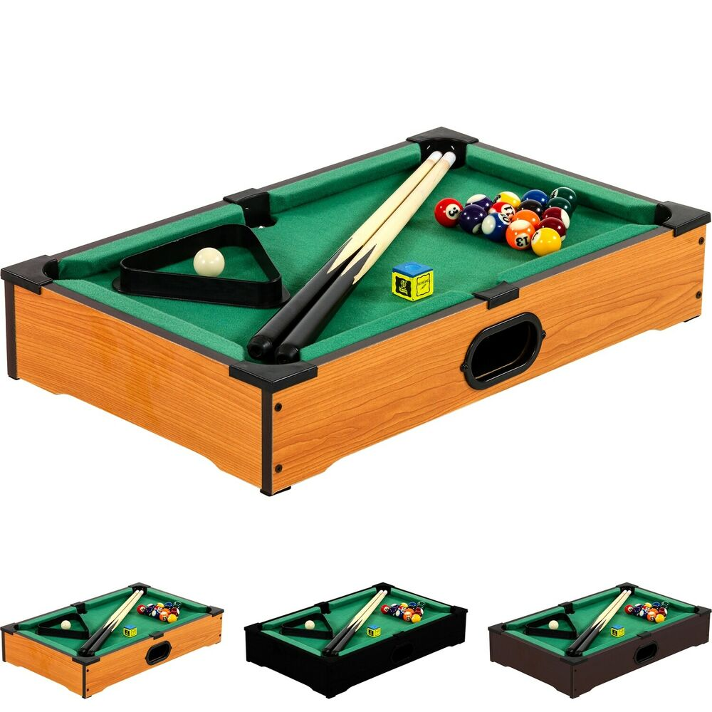 mini pool billardtisch inkl zubeh r ma e 51x31x10cm billard billiard spiel ebay. Black Bedroom Furniture Sets. Home Design Ideas