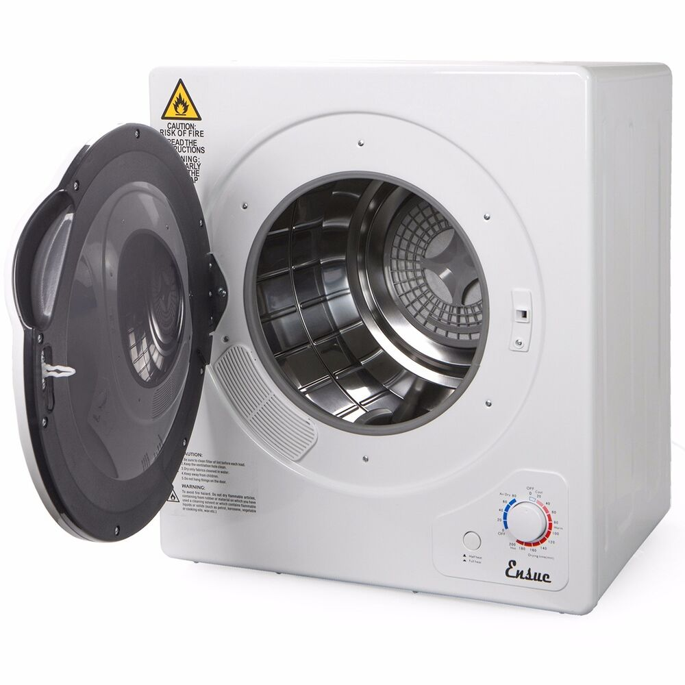 Portable Stainless Steel Tumble Dryer Home Apartment Rv