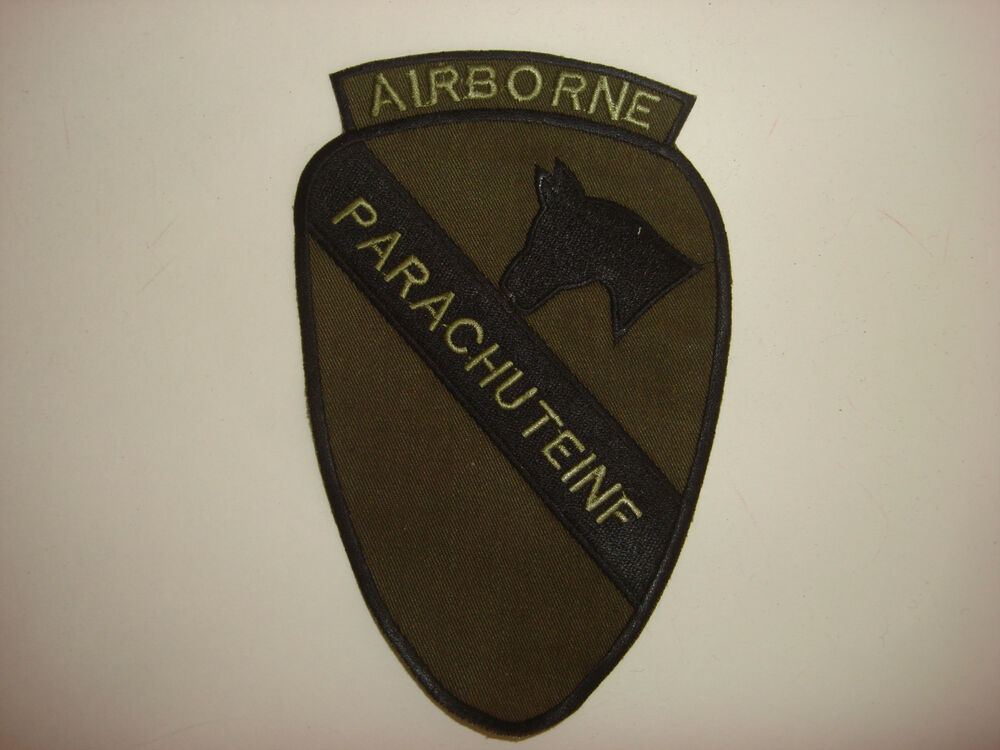 AIRBORNE PARACHUTE INF...1st Cavalry Patch For Ar15