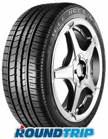 goodyear eagle nct 5 asymmetric 205 50 r17 89v run. Black Bedroom Furniture Sets. Home Design Ideas