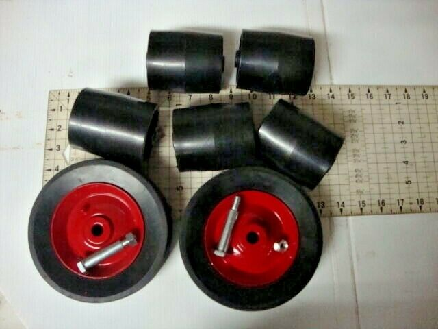 Lawn Roller Parts : Wheel horse lawn mower deck rollers nos bolts