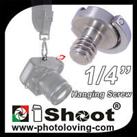 iShoot 1/4 Folding Adapter Screw IS-XG-Hanging Camera and Lens