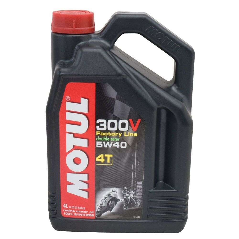 motul 300v 4t full synthetic motorcycle oil 5w 40 4 liter. Black Bedroom Furniture Sets. Home Design Ideas