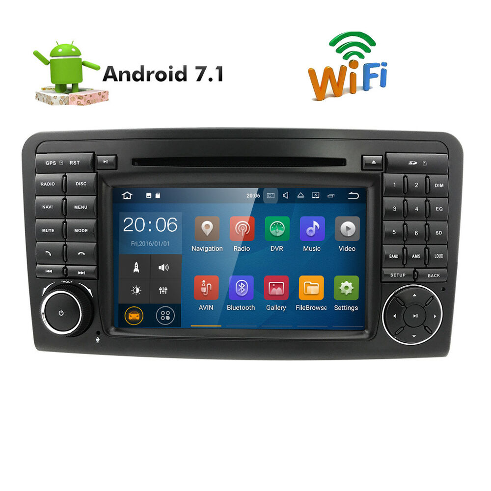 Mercedes android 7 1 ml gl 300 320 350 450 550 w164 x164 for Ebay motors app for android