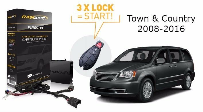 flashlogic add on remote start for chrysler town country. Black Bedroom Furniture Sets. Home Design Ideas