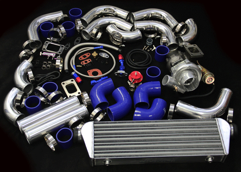 Jdm V Band T3 T4 Turbo Kit For Bmw E30 E34 E36 E39 E46 E90