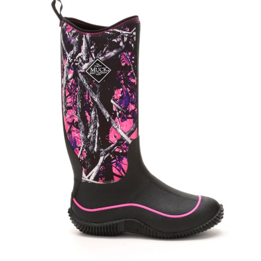Muck Boot Hale Muddy Girl Pink Camo Haw Msmg Rubber Women
