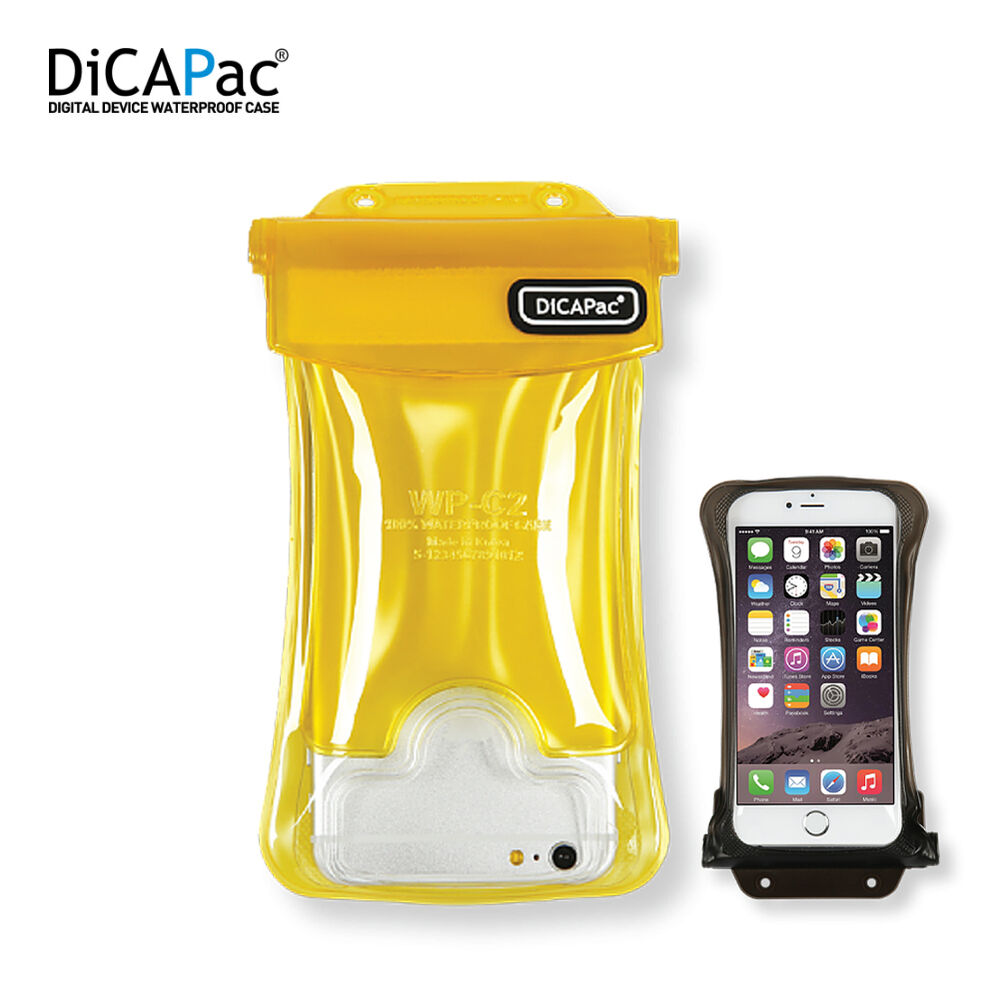 Dicapac WP-C2 Underwater Waterproof Case for Up to 5.7u2033 iPhone 6 6s ...