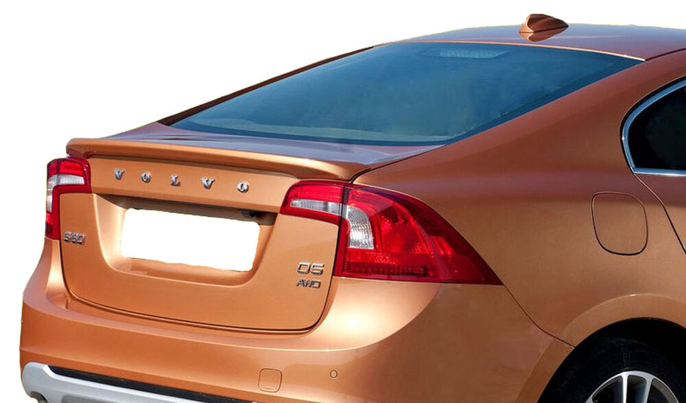 VOLVO S60 FACTORY STYLE UNPAINTED REAR WING SPOILER 2011 ...