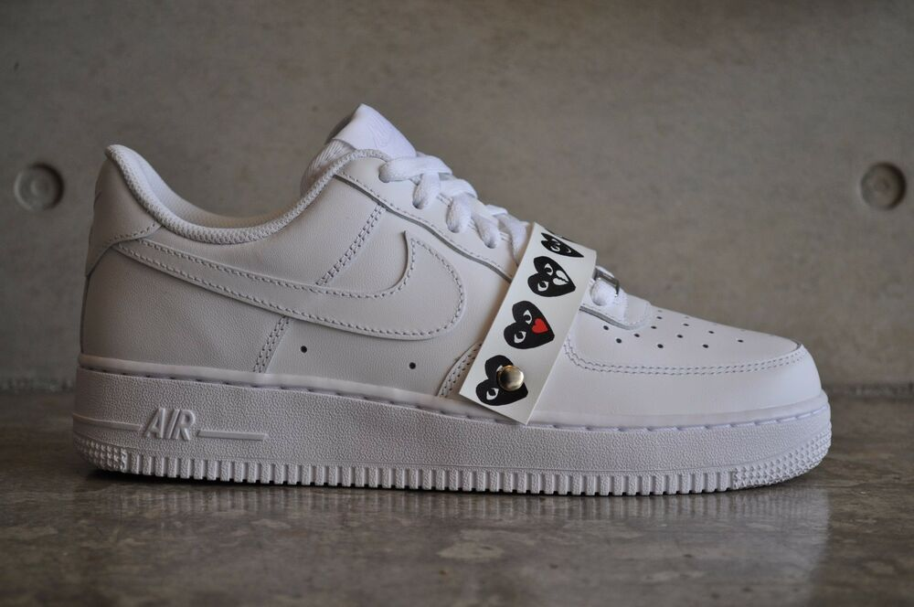 buy popular 8c985 e45a9 Details about Nike Air Force 1 x COMME des GARCONS CDG