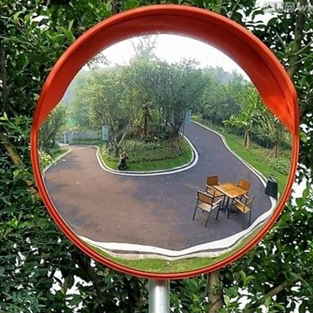 Traffic blind spot security visor curved convex road for Mirror 60cm wide