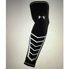 NWT Mens UNDER ARMOUR UA HG Undeniable Shooter Sleeve II S/M Black White $20