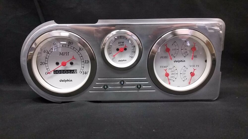 1948 ford f1 dash panel and gauges