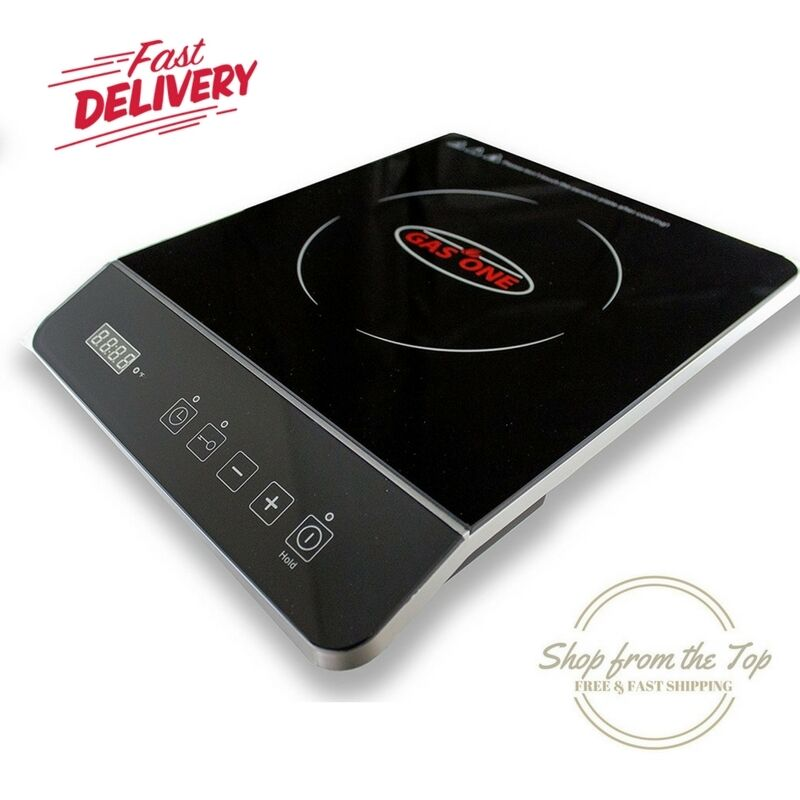 Countertop Gas Stove Portable : Gas One Induction Cooktop Countertop Portable Electric 1800 Watt ...
