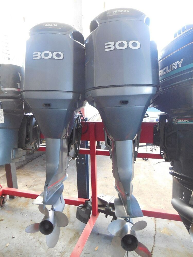 Used yamaha 300 hp hpdi outboards pair ebay for Yamaha 250 hpdi specs