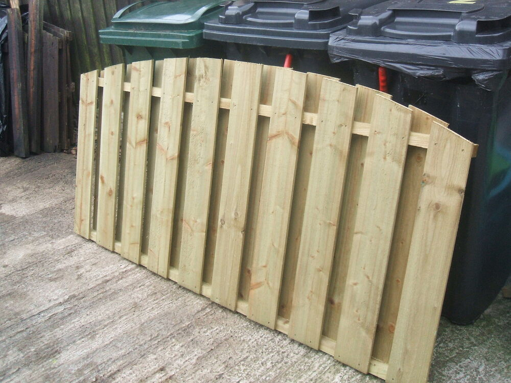 Fence Panels 6' x 3' Double Sided Paling made Treated
