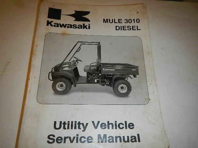 oem kawasaki 2003 mule 3010 diesel 4x4 service manual. Black Bedroom Furniture Sets. Home Design Ideas