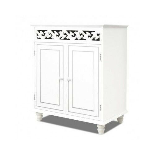 white shabby chic bathroom cabinet shabby chic cabinet white storage furniture sideboard 24674