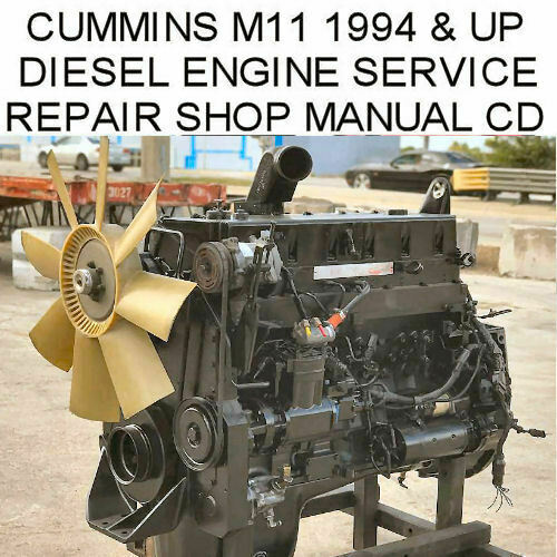 Cummins M11 Series Service Manual Motor Workshop Instruction Repair Shop PDF  CD | eBay