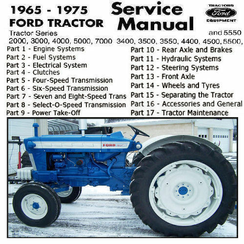 Ford 5000 Tractor Manual : Ford tractor