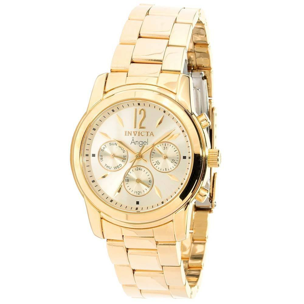 invicta 12551 s gold plated stainless steel