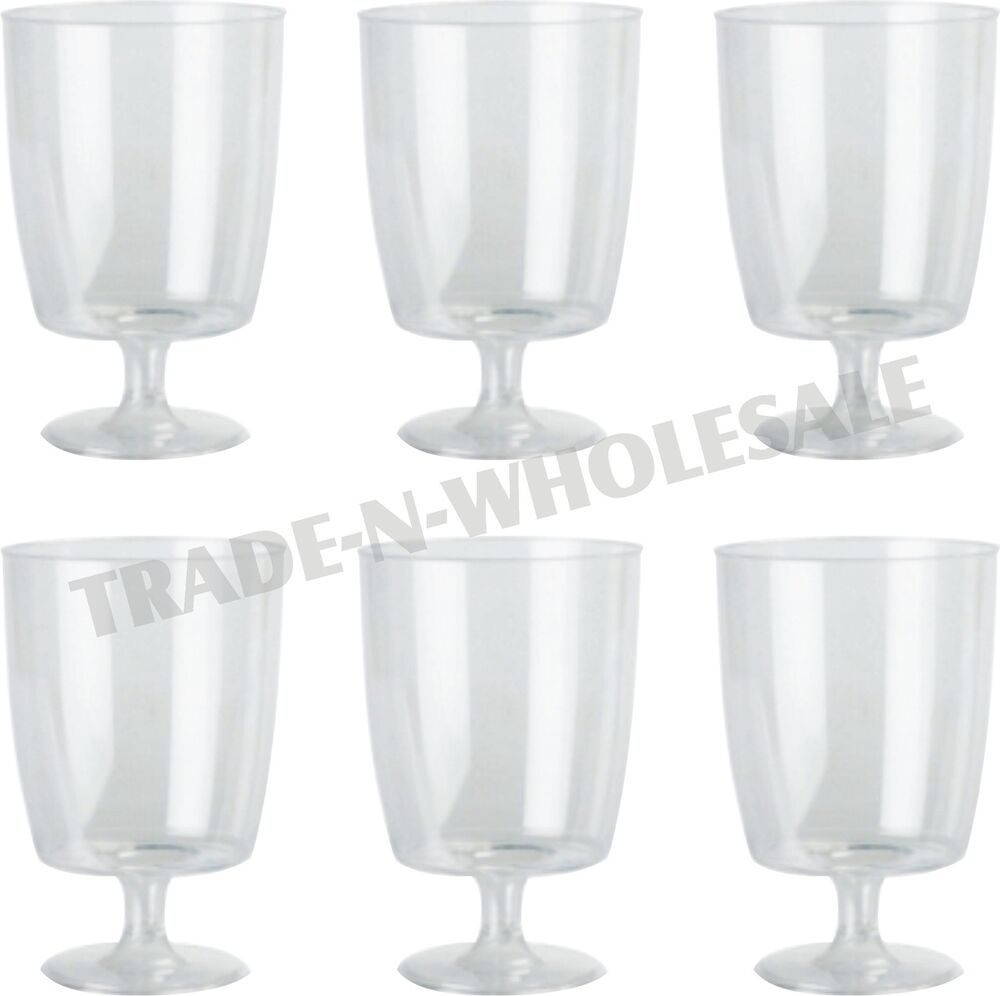 Disposable Wine Glasses Ebay